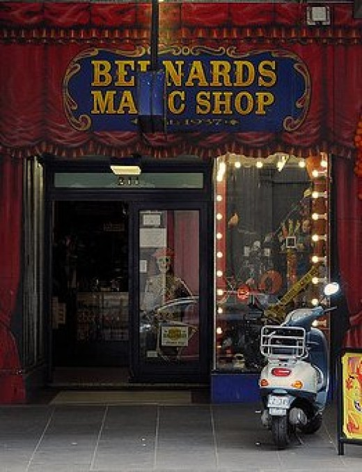 Bernards Magic Shop, Melbourne