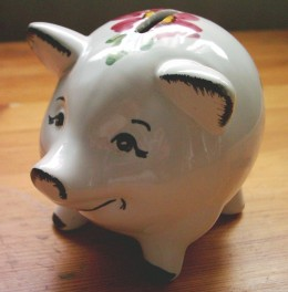 Piggy Bank If you don't want to -  Don't Sacrifice but -  Please Do not waste