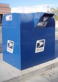 U.S. Postal Service mail box.