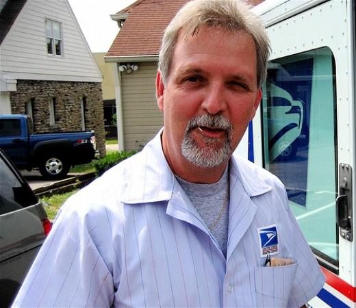 Mail carrier Windel.
