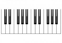 Gospel piano scales
