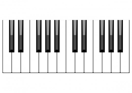 Gospel piano scales