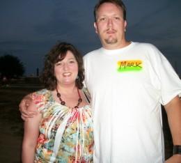 Me & my beautiful wife.
