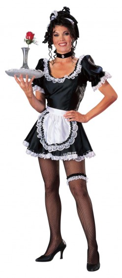 Fun Halloween French Maid