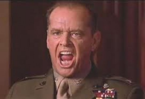 """You can't handle the truth!"" from the movie A Few Good Men"