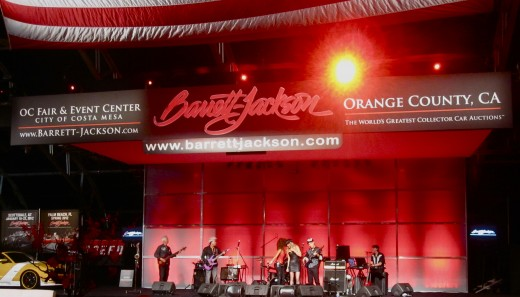 The Opening Night Gala at the Barrett-Jackson Auto Auction in Orange County, CA.