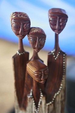 Wood Carvings in Mozambique