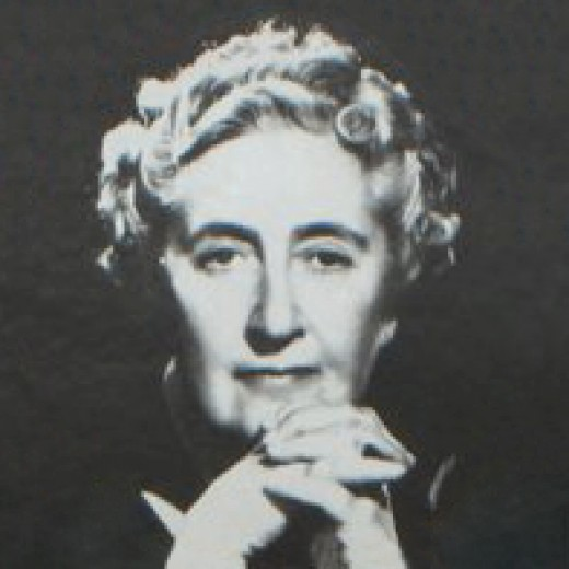 """The Queen of Crime"" Agatha Christie"