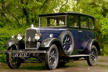 Agatha Christie's Morris Cowley which was discovered abandoned at Guildford.