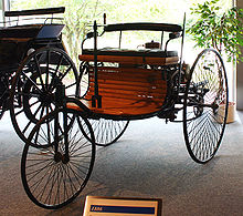 The first production ran car with a internal combustion engine.