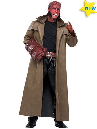 Hellboy Halloween Costume