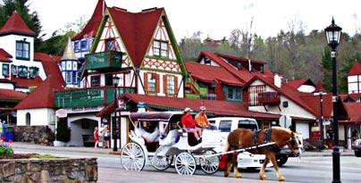 Helen Georgia's Alpine village