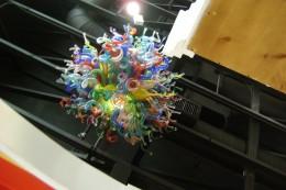 Blown glass art at Del Sol