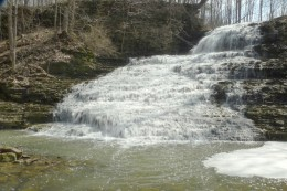 Stephanie Falls as it looks today.