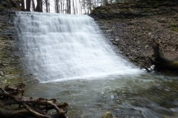 Washboard Falls as it looks today.