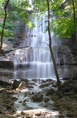 Sherman Falls as it looks today.
