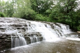 Darnley Cascade as it looks today.