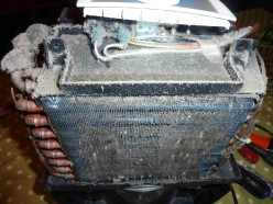 How to clean a compressor dehumidifier