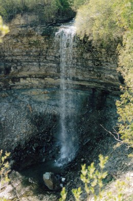 Borer's Falls as it looks today.