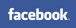 facebook website logo. Social networking site that focuses on cultural trends.