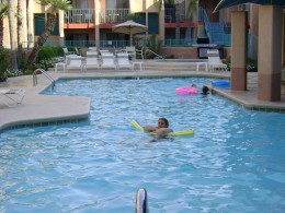 Pool at the Palo verde