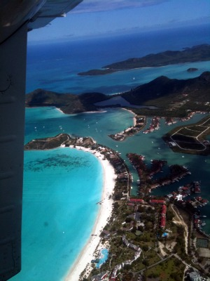 Flying on a 6 Seater Plane From Antigua To Tiny Montserrat, POP. 2,000
