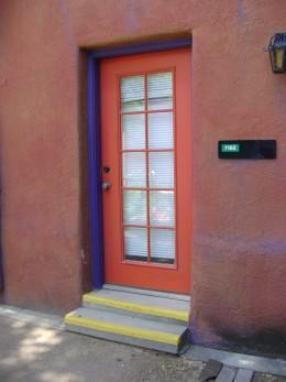 Door in old town