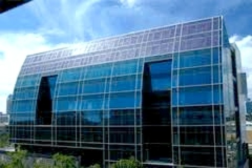 Solar ready glass panels