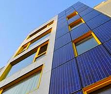 External solar claddings