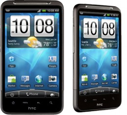 HTC Inspire 4G, don't look that different, jack of all trades