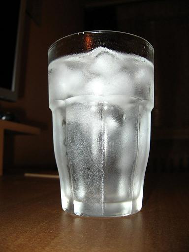 make sure you drink enough water
