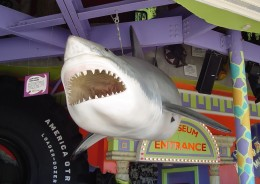 The 'Jaws' shark enters the museum of shame in this sequel.