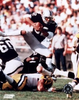 No 32 Marcus Allen against the Rams, the other Los Angeles team.