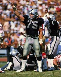 Raiders No 75 Howie Long