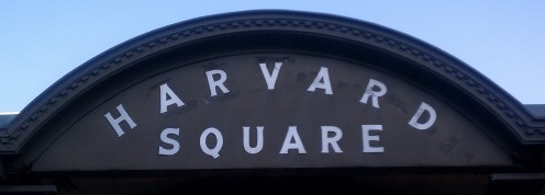 Welcome to Harvard Square in Cambridge, MA! All photos by Kate Spenser.