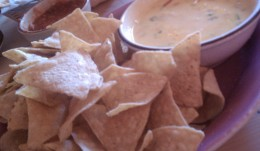 Definitely try the chips and queso!