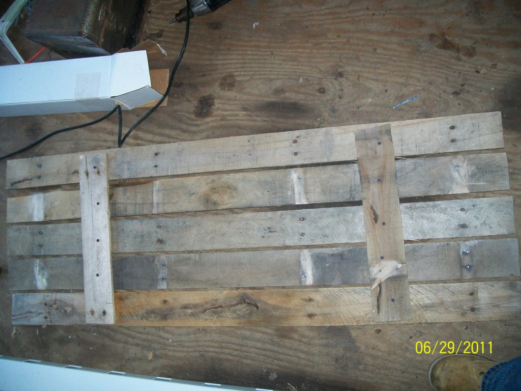 free window shutters from wooden pallets