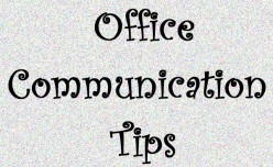 How to communicate effectively in the office