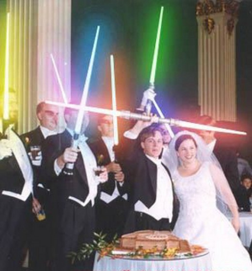 If you resolve to enjoy yourself no matter what, the force will be with you on your special day.