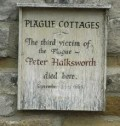 The village is awash with memoires of the Plague victims