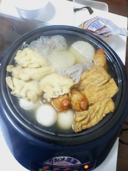 Oden a Japanese one-pot winter dish