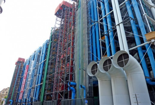 Pipes of The Centre Pompidou