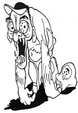 zombie coloring pages zombie coloring pages for adults - Zombie Coloring Pages For Adults