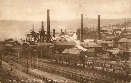 The air thick with the coal Dust that shortened the life of many a collier - if a pit fall didn't kill them first.