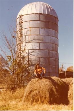 Back on the farm, taken by my husband, Al.