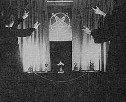 The Baphomet symbol is used by the Church of Satan.