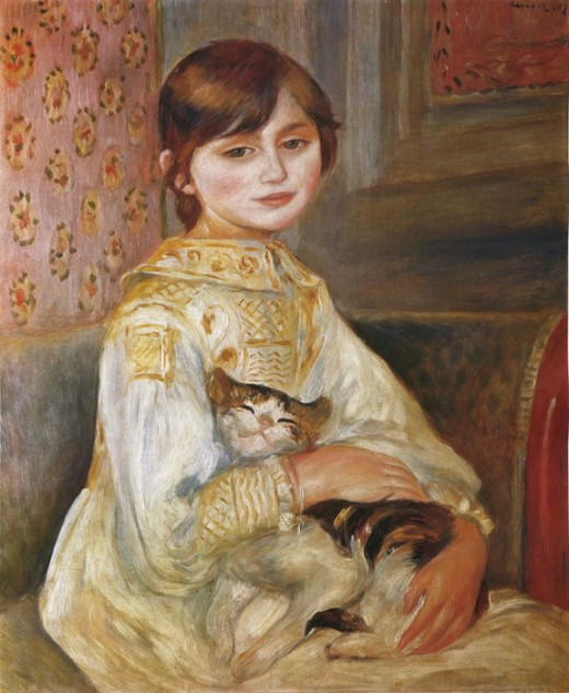 Pierre-Auguste Renoir, Child with Cat