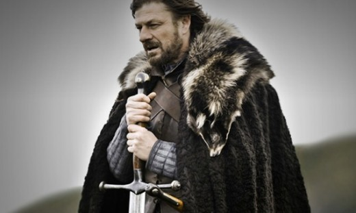 Ned Stark, who sadly will not be appearing in season two.