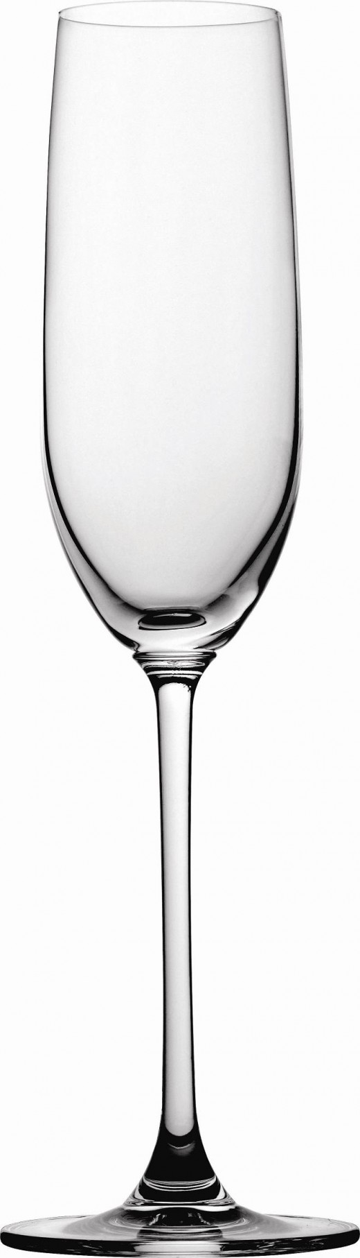Champagne Flutes for White Wine