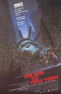 The names Plissken.... Escape From New York remains a cult classic